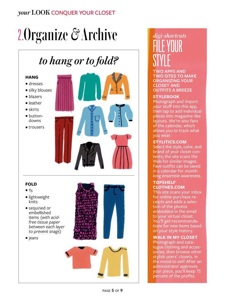 Closet Organizing Guide!
