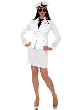 from Angels - 1940s Lady Naval Officer - Angels Fancy Dress Costumes http://www.stagsandhens.com/18,0,1-hen-stag-weekend-directory/fancy-dress-shops-party/