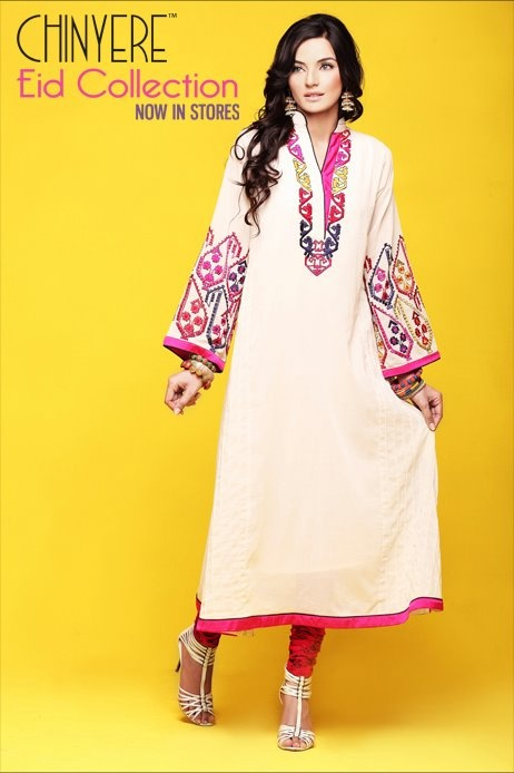 Latest Pakistani Fashion,Bollywood Fashion,Hollywood Fashion,Ladies Fashion,Men Fashion.: Chinyere Women's Eid Wear Collection 2012 Now In Stores