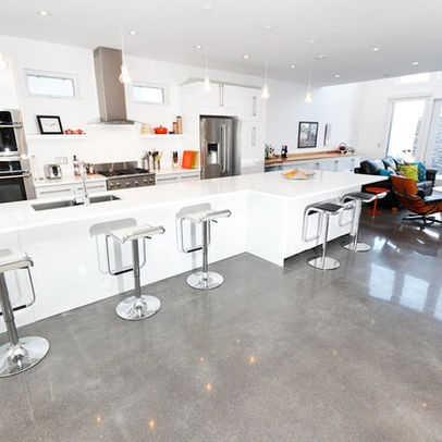 white polished concrete bar. 130 best Bath Floor images on Pinterest
