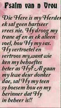 Psalm van 'n vrou*