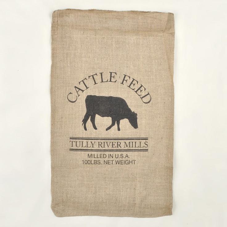 Feed Sacks Cattle And Sacks On Pinterest