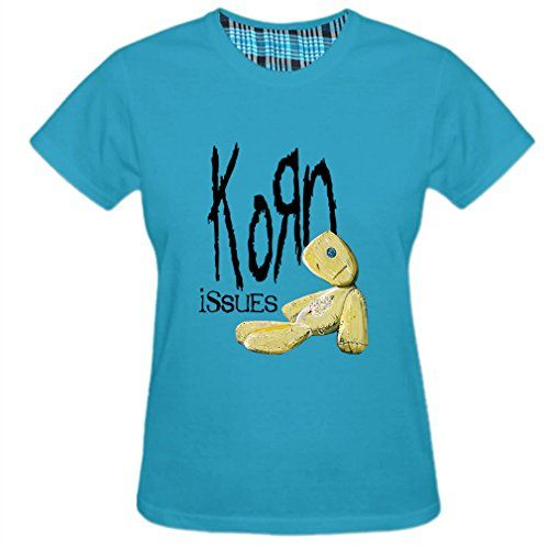 Scorpio-io Women's Korn American Nu Metal Band Issues T-shirt - http://weheartlakers.com/lakers-shirts/scorpio-io-womens-korn-american-nu-metal-band-issues-t-shirt