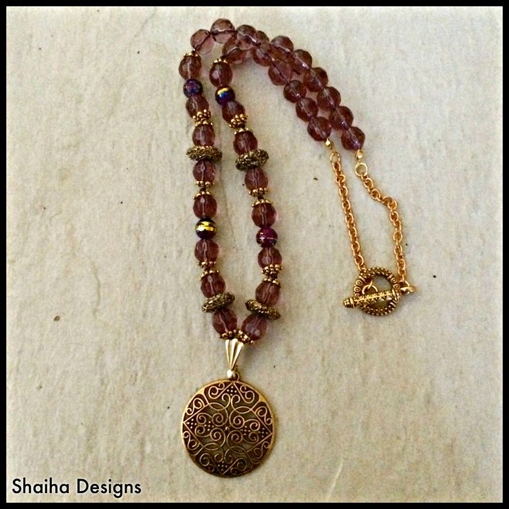 Lilac & Lace Necklace · Shaiha Designs · Online Store Powered by Storenvy