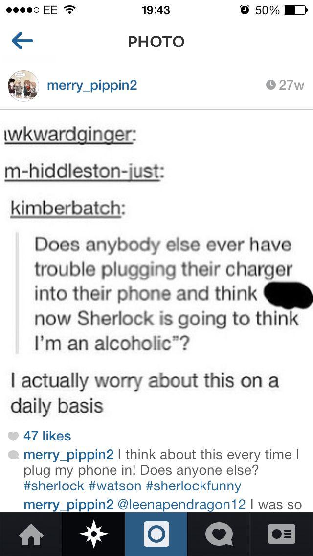 Me too... Sherlock funny :););)