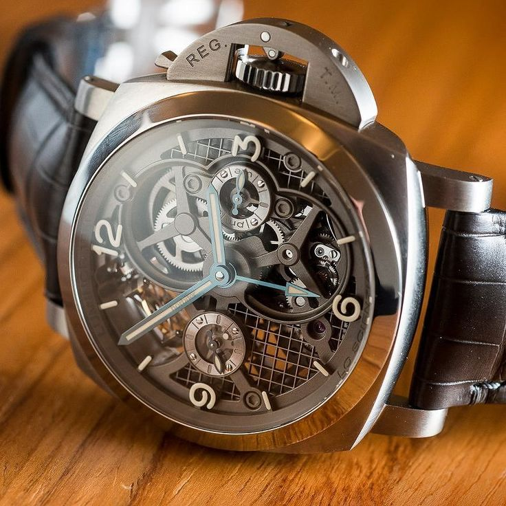 Panerai Lo Scienziato Luminor 1950 Tourbillon GMT PAM 578 Titanium #watchoftheday #time #watchmaker #watchmaking #watch #hautehorlogerie #horlogerie #horologia #horology #relógio #relojoaria #orologio #orologeria #gmt #gmtfunction #timepiece #tempo #panerai #scienziato #luminor #tourbillon #turbilhão #titanium #titânio Photo orbiter.com by andremadrid