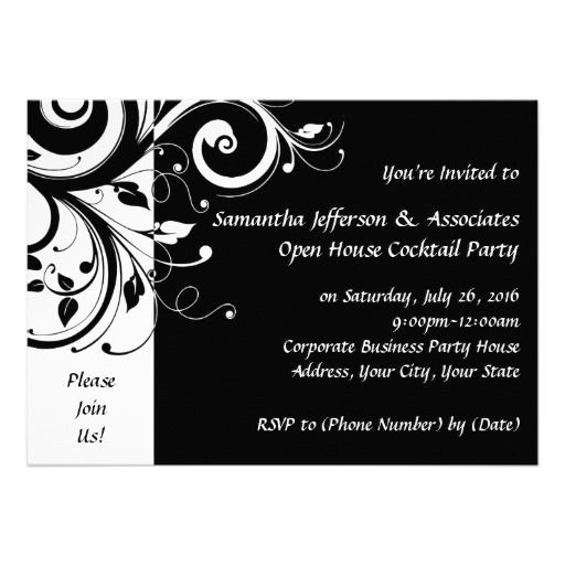 1000  images about black and white party invitations on pinterest