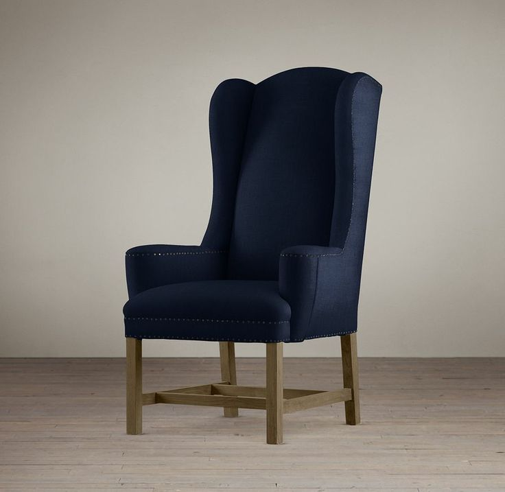rhu0026 belfort wingback fabric armchairour of the classic english wing chair has petite wings and low arms that are perfectly placed for comfort