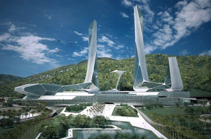 Penang Global City Center Malaysia.