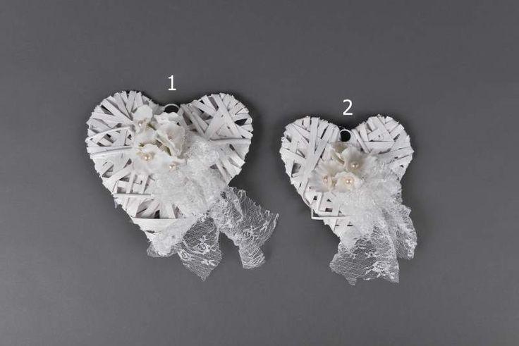 Ξύλινα Διακοσμητικά καρδιές