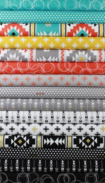 Fabricworm Giveaway: Fat Quarter Bundle of Four Corners by Riley Blake