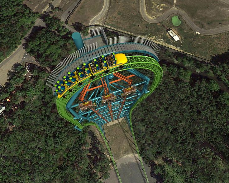 NEW for Six Flags Theme Parks in 2014 in certain states. You will NOT catch me on that 400 plus drop. heck no!!!!! I'm the queen of rides but their are too many accidents at six flags.