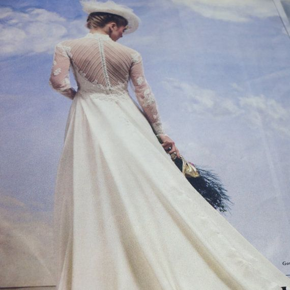 Vintage Wedding Dresses 80s: Vintage 80s Wedding Dress Ilissa Demetrios