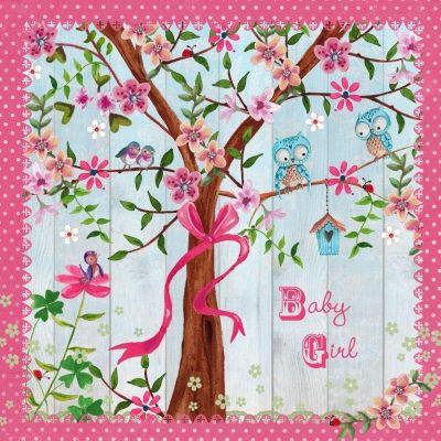 Geboorte boom meisje (Cartita Design)