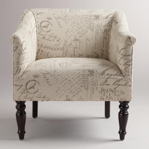 French Script Charlotte Chair; really tempted to buy this for our bedroom