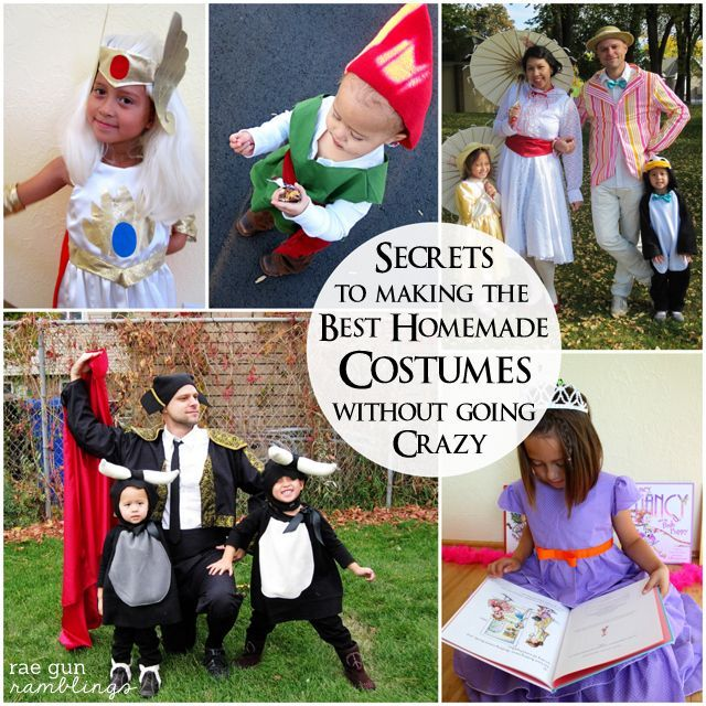Best 25 homemade costumes ideas on pinterest coolest halloween the best homemade costume tips for halloween success and sanity homemade halloween costumesdiy solutioingenieria Choice Image