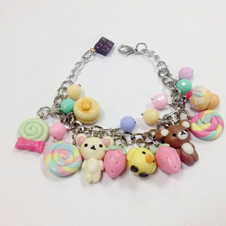 cute bracelet from clay :)