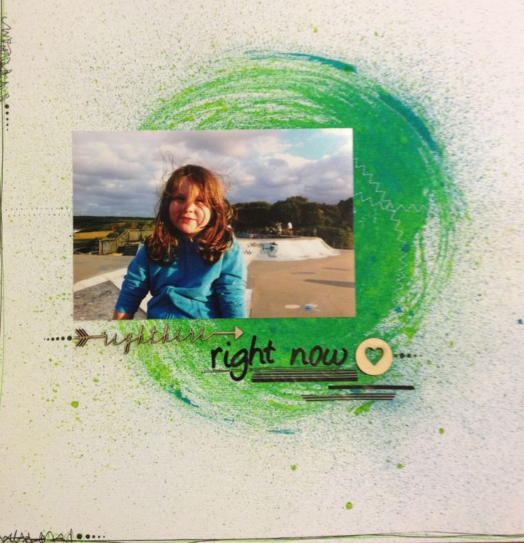 'Right here, right now' by me - Kate Ramsey :)