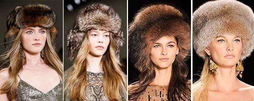 Модные головные уборы осень-зима 2017: вязаные, меховые шапки, береты