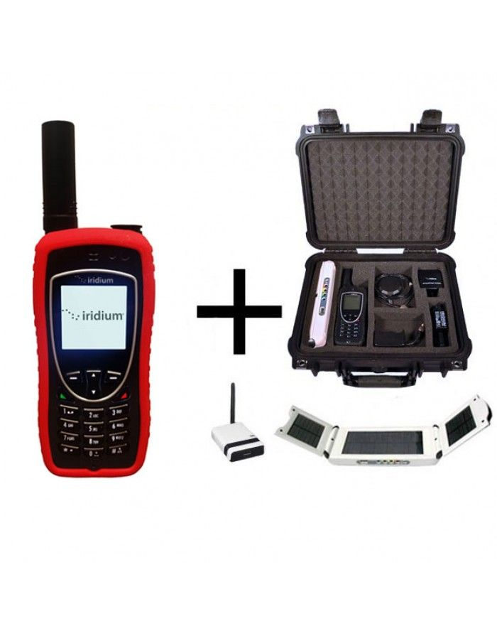 Iridium 9575 WIFI-to-Go Package - Satellite Phone, Solar and Data