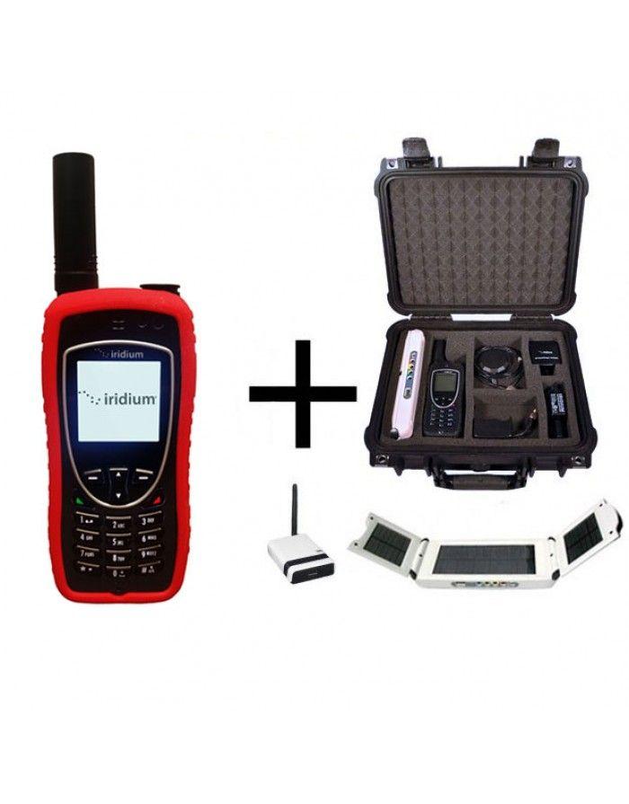 Iridium 9575 WIFI-to-Go Package - Satellite Phone, Solar and Data