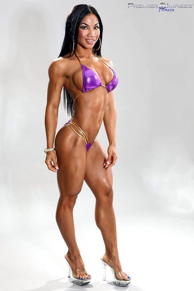 "mouniirr84: "" Ifbb pro tina nguyen "" WHAT A DELICIOUS ..."
