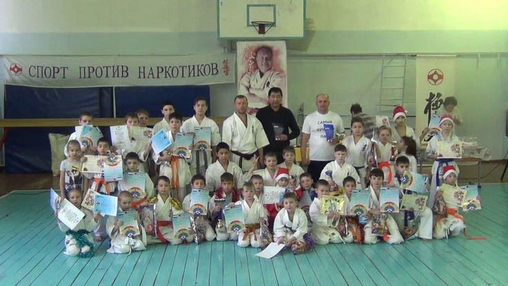 Детское карате Марафон Сила Духа год 2016 Лесосибирск