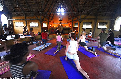Turtle Cove will be home for this yoga retreat and this is Yoga Warrior's 5th visit.  Positioned perfectly to catch the off shore breeze, Turtle Cove, a 10 minute sandy walk from unspoilt beaches, is a rustic warm lodge where we will enjoy exclusivity.  The lodge and the yoga temple are a blend of Mozambican, Mali and West African architecture.  The temple permeates yoga energy and the essence of tranquility.