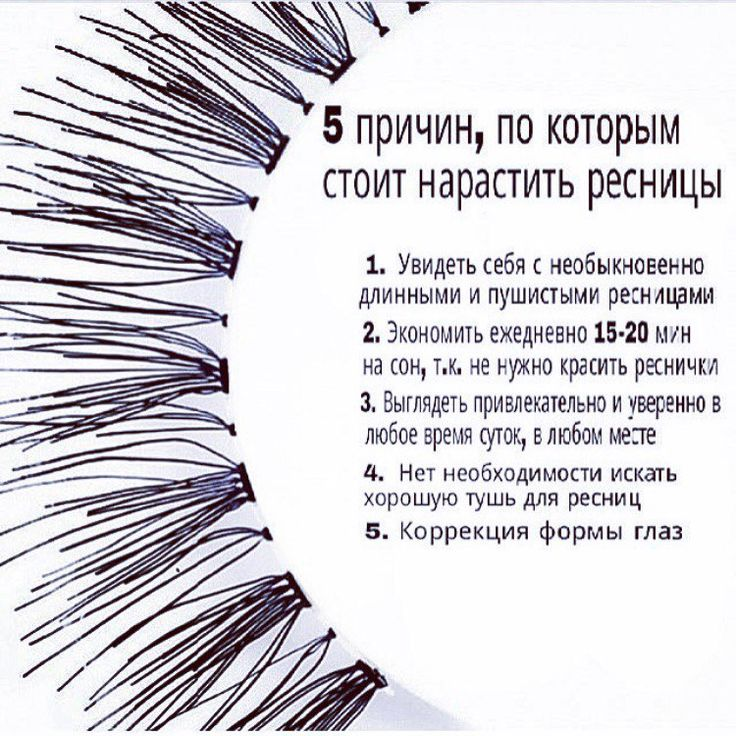 """5 причин """"за"""" наращивание ресничек"""