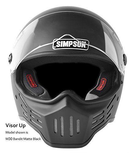 Simpson M30 Bandit Motorcycle Helmet | Simpson Helmets