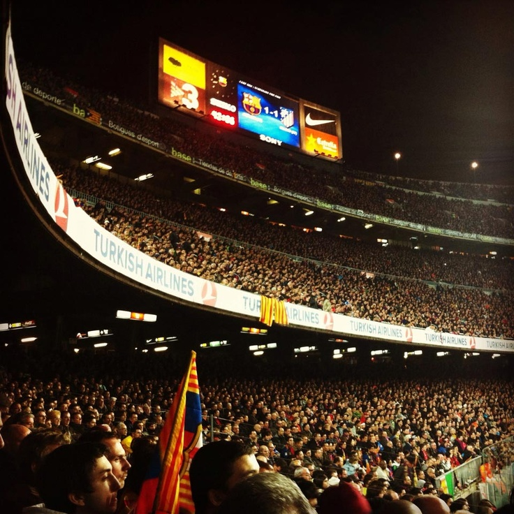 the camp nou, home fo FC Barcelona #campnou #stadium