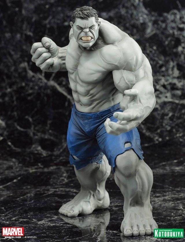 Marvel 2014 San Diego Comic Con Gray Hulk Exclusive Kotobukiya Statue