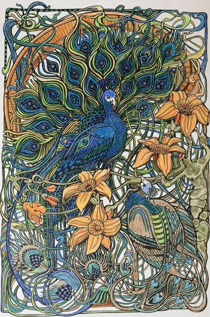 Botanical art coloring book - Amazon Com Manic Botanic Zifflin S Coloring Book 9781523692057 Zifflin