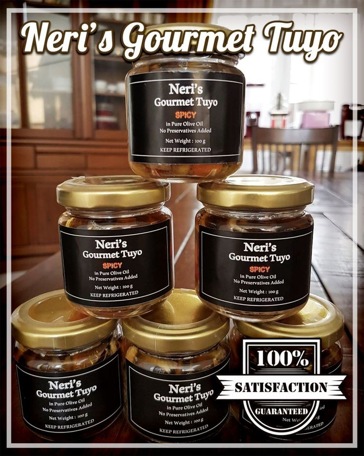 Neri Gourmet Tuyo Pure olive oil, Gourmet, Candle jars