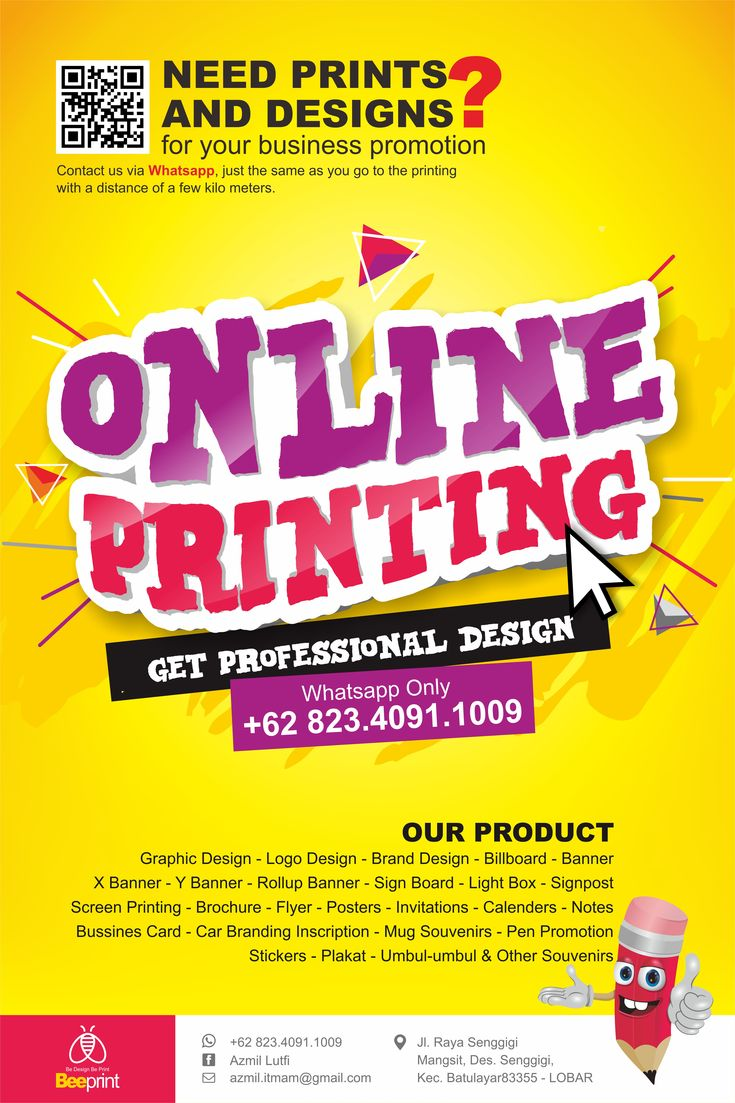 Online Printing Lombok