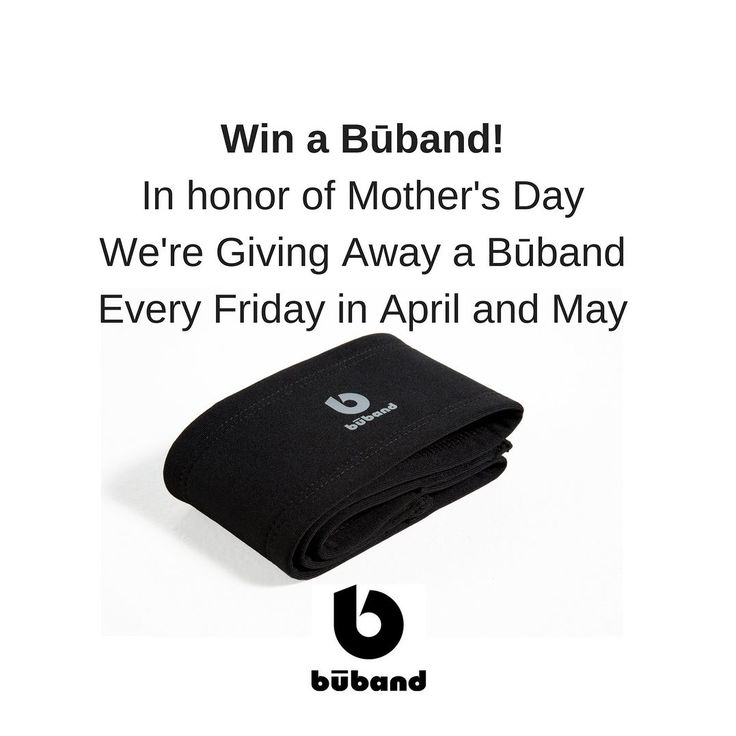 Būband #Giveaway: Like Follow and RT @lovethebuband on Twitter to win! In honor of #MothersDay we're giving away a free Būband every Friday in April and May. Find us on Twitter @lovethebuband - #freebiefriday #giveaway #win      #runninggear #fitness #fitnessgear #gymgear #workoutwear #gymwear #boobbounce #womensfitness #womensworkout #breastsupport #Sportsbra #Bra #BreastBounce #FitnessSupport #RunningSupport #boobsupport #breasthealth #CoopersLigaments #motherrunner #womensrunningcommunity…