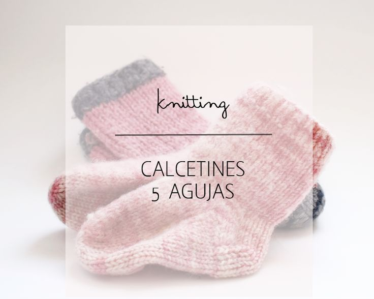 44 best Calcetines images on Pinterest | Calcetines de punto, Dos ...