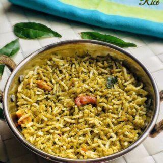 Curry Leaves Rice Recipe for Toddlers and Kids | Karuveppilai sadam recipe | Rice Varieties