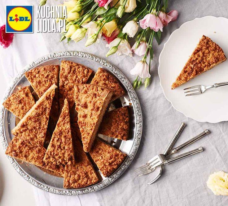 Szybkie ciasto z jabłkami i orzechami. Kuchnia Lidla - Lidl Polska. #ciasto #orzechy