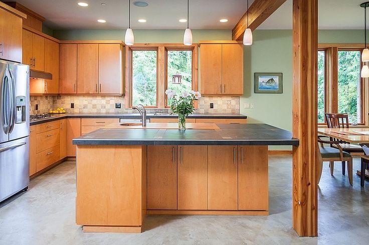 Modern Cottage House Design At The Base Of Squak Mountain Washington ...