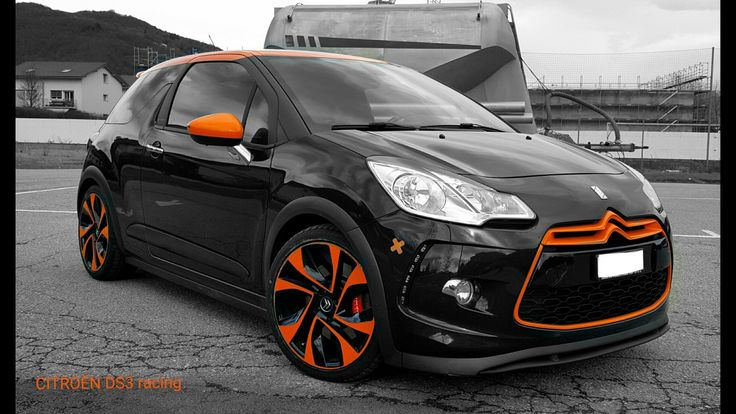 #CitroenDs3R#blackANDorange