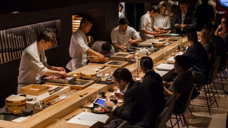 Kisume is more a party than a purist's sushi haunt
