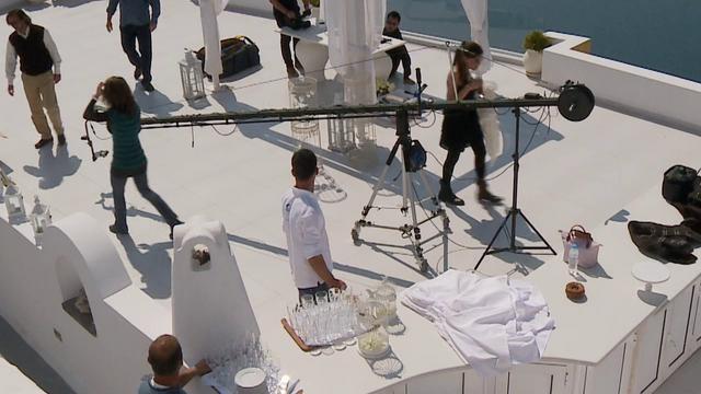 BTS Phosart Team. Video by Studio Phos art.  The Dream // Vanja & Milena. Video by Studio Phosart.  Cinematography: www.phosart.gr  Wedding Planner: www.poemaweddings.com   @ Weddings & Events in Santorini island Greece