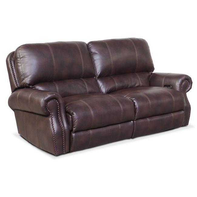 Beaumont Sofa Bjs Repairs Liverpool Living Room Furniture Dartmouth 2 Piece Power Reclining Burgundy