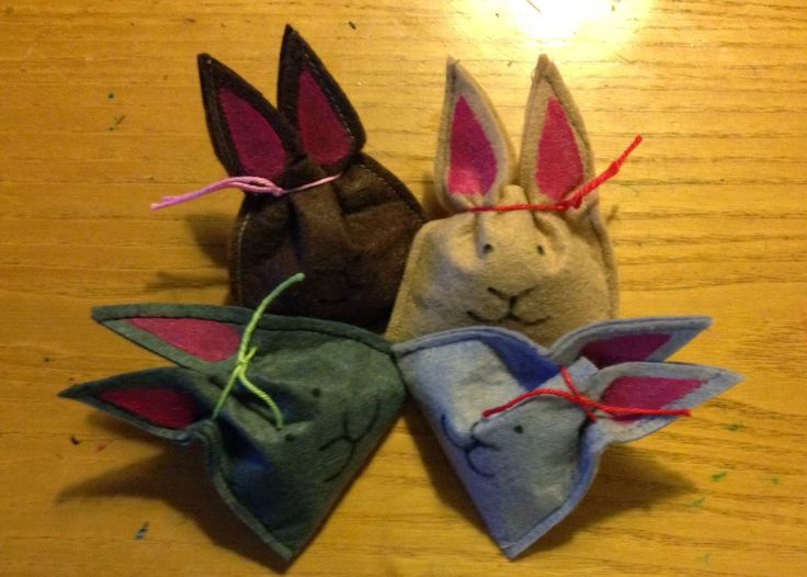 Howling at the moon: Felt Bunny Treats