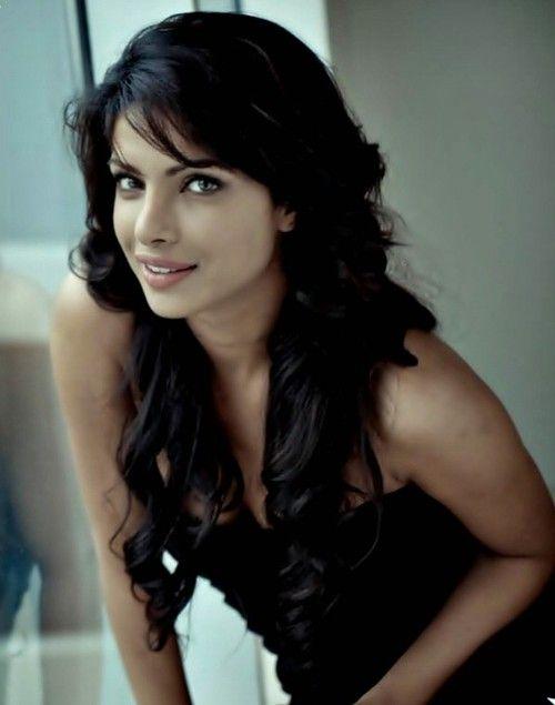Priyanka Chopra, long curly/wavy layers