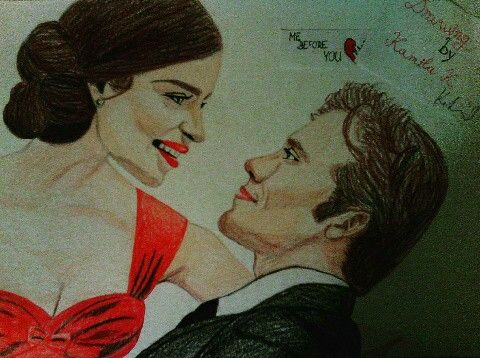 Drawing, art, draw, draws, paper, pencil, crayons, colours, mebeforeyou, movie, love, life, drawingbykamila, will&louisa, nezjsemtepoznala, cute, sweet, picture, mywork, hobby, myartwork, artwork, blogger, artist