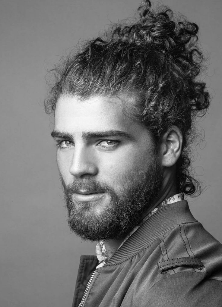 Male Hair Mens Beard Styles Gorgeous Men Models Posts Man Bun White People Long