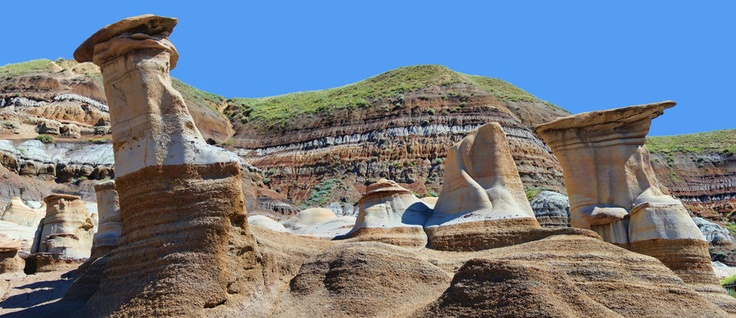 Hoodoos 5 Picture Panorama
