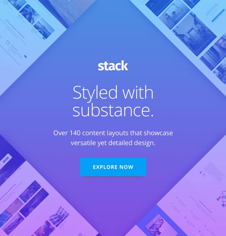 Stack Multi-Purpose HTML with Page Builder by medium_rare | ThemeForest